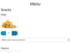 Users can view your menu and order from their phone or tablet, no download required.